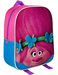 Original 3D Trolls Backpack, Official Licensed Trolls   DreamWorks Backpack Poppy 3D