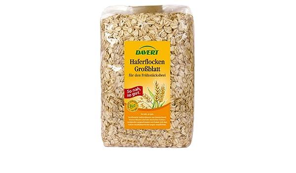 Amazon.com : Davert, Haferflocken Grossblatt, 500g : Grocery & Gourmet Food
