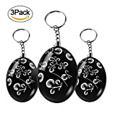 Personal Alarm, IEKA 120-DB SOS Emergency Self Defense Safety Keychain Alarm, Safe Sound Siren Suitable for Night Workers, Elderly, Kids, Students, Women and (3Pack)