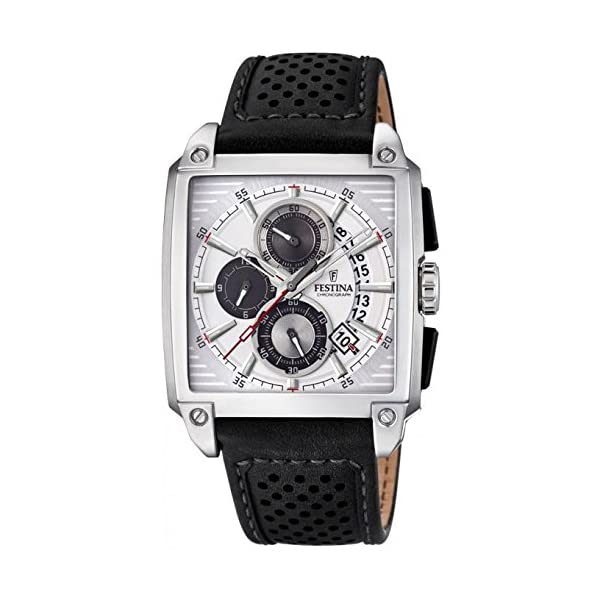 Mens-Watch-Festina-F202651-Chronograph-Date-Leather-Band