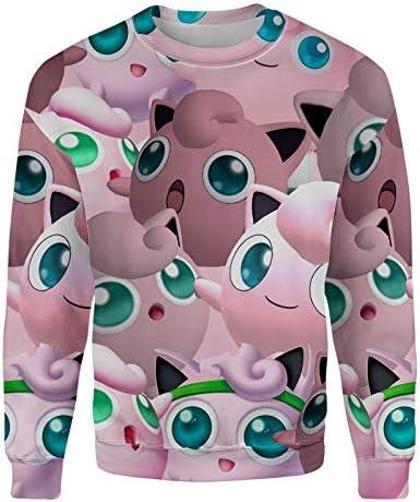 Jigglypuff Super Smash Bros Sweatshirt at Amazon Men's