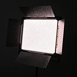 Dison Bi-Color K2000 3200K/5400K 1728PCS LEDs Studio Camera Photo Video Photography Light Continuous Output Lighting Panels With Battery Mount
