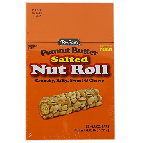 Pearson's Salted Nut Roll Peanut Butter - 1.8 Oz 24 Count]()