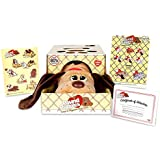"Basic Fun Pound Puppies Classic Stuffed Animal Plush Toy - Great Gift for Girls & Boys - 17"" - Light Brown with Dark Brown Spots"