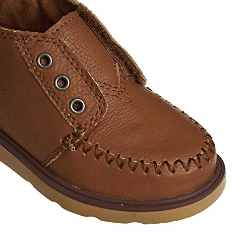 TOMS Kids Chukka-K Brown Synthetic Leather TdLTL
