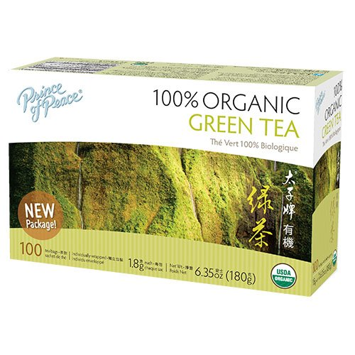 (Prince of Peace Organic Green Tea 100 Tea Bags )