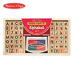 Melissa & Doug Alphabet Stamp Set (Stamp...