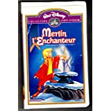 MERLIN L'ENCHANTEUR, Collection Chefs-D'Oeuvre (EN FRANÇAIS, FILM VHS, NTSC).