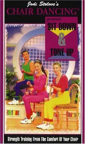 Jodi Stolove's Chair Dancing - Sit Down & Tone Up [VHS]