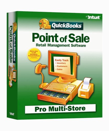 QuickBooks Point of Sale 5.0 Multi Store Retail Management Software