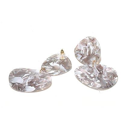 Amazon Ludage Earrings Geometric Earrings Acrylic Sheet