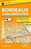 Bordeaux agglomération : Atlas de poche avec index des rues