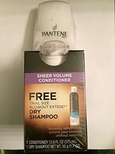 Pantene Sheer Volume Conditioner 12.6oz+ Free Bonus Trial Si