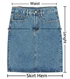 Midsummer Womens Denim Skirt