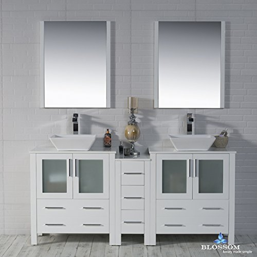 BLOSSOM-001-72-01-D-1616V-Sydney-72-Double-Vanity-Set-with-Vessel-Sinks-and-Mirrors-Glossy-White
