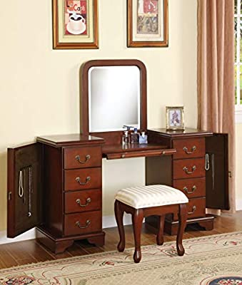 ACME 06565 Louis Philippe Vanity Set by ACME