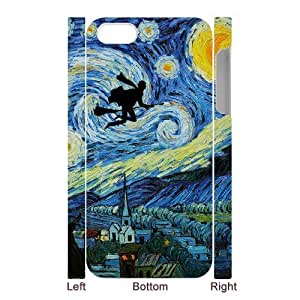 Custom Your Own Vincent Van Gogh Harry Potter Starry Night iPhone 5 Case , Special designer Harry Potter iPhone 5 Case by runtopwell