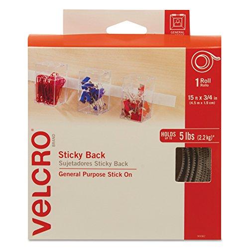 VELCRO Brand Sticky Back White