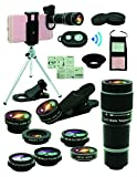 Best Smartphone Camera Lenses - Cell Phone Camera Lens Kit,11 in 1 Universal Review