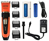 Nawty Paws Pet Grooming Kit | Hair Clipper & Trimmer For Pets - Ideal For Dogs and Cats - Sleek Ergonomic Designed Device With Ceramic & Stainless Steel Blades - Cordless & Rechargeable - Best Gift