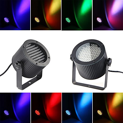86 LEDs Bühnenlampe DMX Disco Lichteffekt RGB DJ Projektor Strahler Party Laser