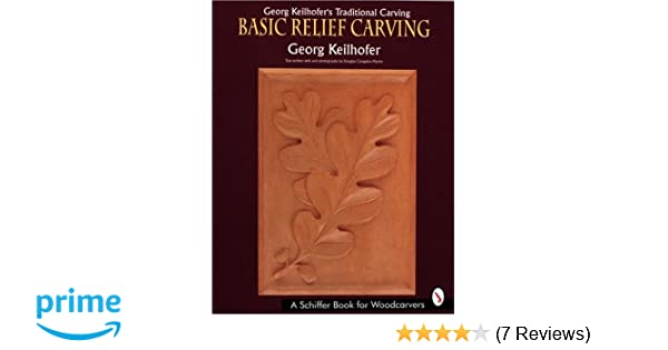 Georg keilhofers traditional carving basic relief carving georg