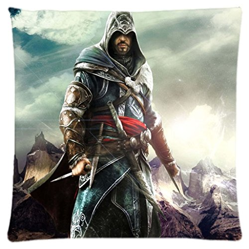 Assassin Creed Assassin's.. Decorative Pillow Case cover Standard size 18
