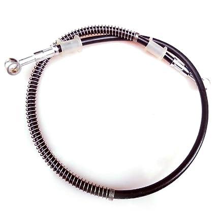 Ainstsk - Cable de Freno hidráulico para Motocicleta de 500 mm a 2000 mm, Banjo
