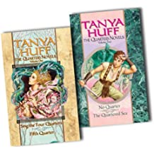 Tanya Huff Collection Quarters Novels 2 Books Set Pack RRP: £17.98 (The, Volume II: No Quarters/The Quartered Sea: 2, The, Volume 1: Sing the Four Quarters/Fifth Quarter)
