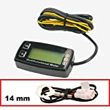 AndyTach Digital Tachometer, Hourmeter and thermometer (Air Cooled Engine)