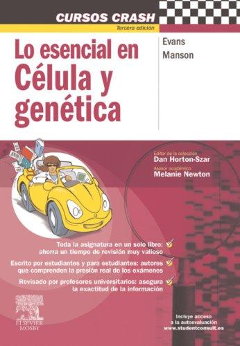 Descargar Libro Lo Esencial En Célula Y Genética + Studentconsult En Español J. Evans