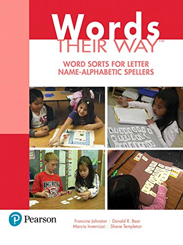 Words Their Way: Word Sorts for Letter Name   Alphabetic Spellers (3rd Edition) (Words Their Way Series)