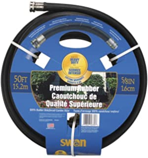 Swan 5/8 Inch By 50 Foot Premium Rubber Reinforced Hose