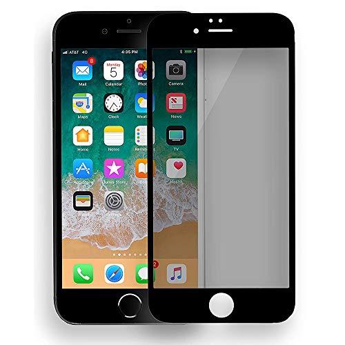 AnnTec iPhone7 / iPhone8 ガラスフィルム 覗き見防止フィルム 高透過率 3DTouch対応 9H硬度 防指紋 高光沢 気泡レス スクラッチ防止 iPhone7 / iPhone8 フィルム