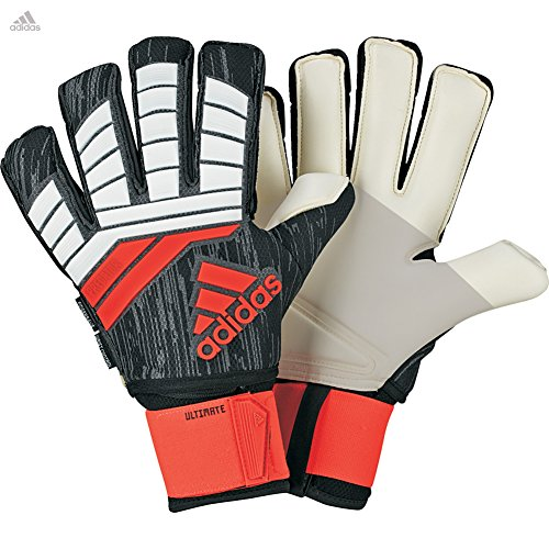 Adidas Fingersave Ultimate Glove - adidas Predator FINGERSAVE Ultimate Goalkeeper Gloves with Goalkeeper Wrist Support for Soccer