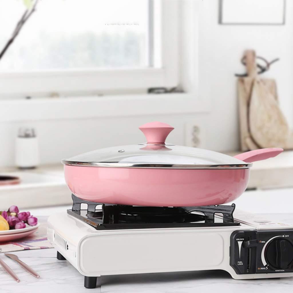 Sartén Antiadherente Sartén Cocción En La Cocina Sartén De Aluminio A Gas Cocina De Inducción Sartén Antiadherente Universal para El Hogar Sartén ...