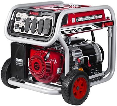 Amazon.com: Ai Power SUA12000EC Generador de gas de 12000 W ...