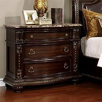 Amazon.com: Muebles de América strout Mesita de noche en ...