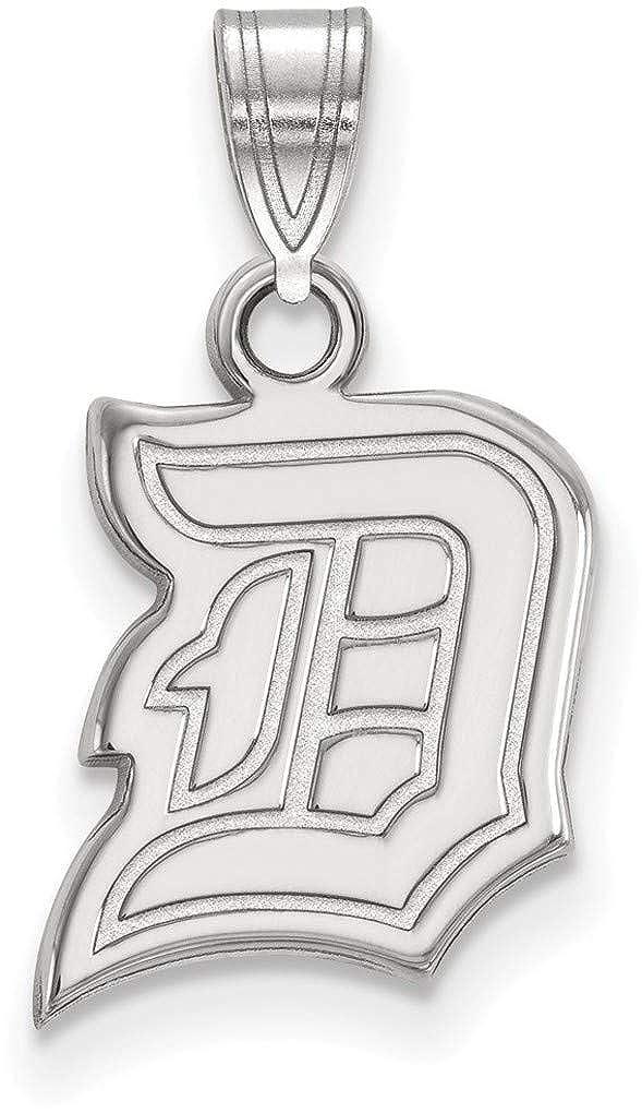 SS005DUU Sterling Silver Duquesne University Small Pendant by LogoArt