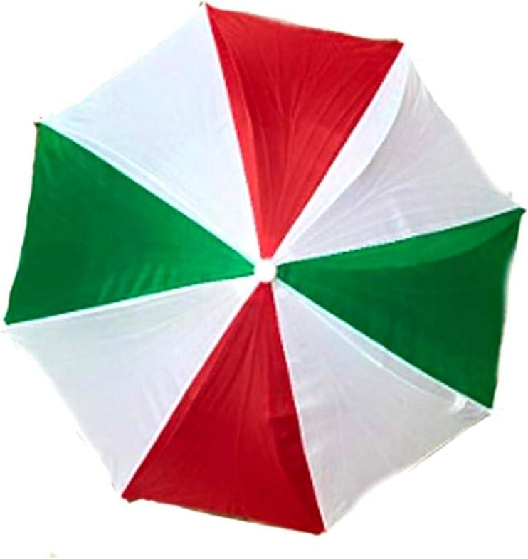 Roger Enterpsies - Sombrero de Paraguas (3 Unidades), Color Rojo ...