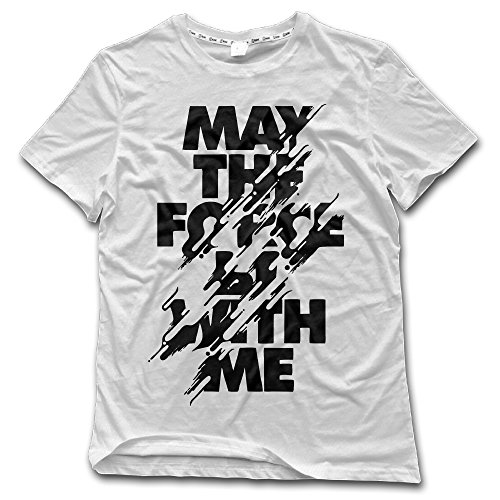 just-tinge-mens-may-the-force-be-with-me-crew-neck-t-shirt-m-white