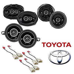 Fit Toyota Tacoma 2005-2014 Factory Speaker Replacement Kicker DS Series Car Speaker Package