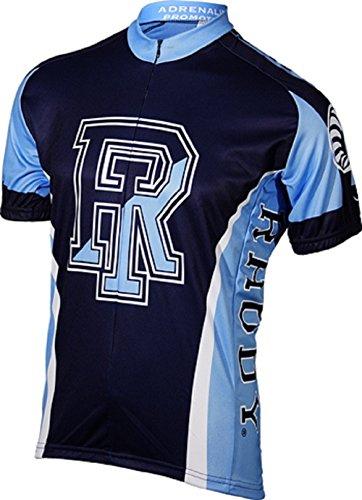NCAA Rhode Island Men's Cycling Jersey, White, Medium