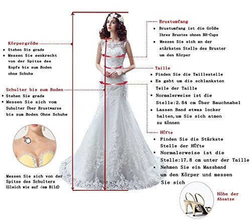 Promgirl House Damen Beliebt Herzform Tüll Spitze A-Linie 2017 Prom Lang Empire Partykleider Abendkleider Cocktail Ballkleider Lang
