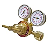 Ameriflame R260-300 Medium Duty Single Stage Acetylene Regulator with CGA300 Inlet