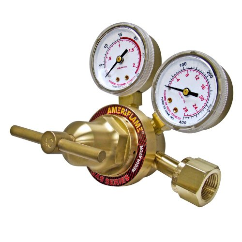 Ameriflame R260-300 Medium Duty Single Stage Acetylene Regulator with CGA300 Inlet by Ameriflame