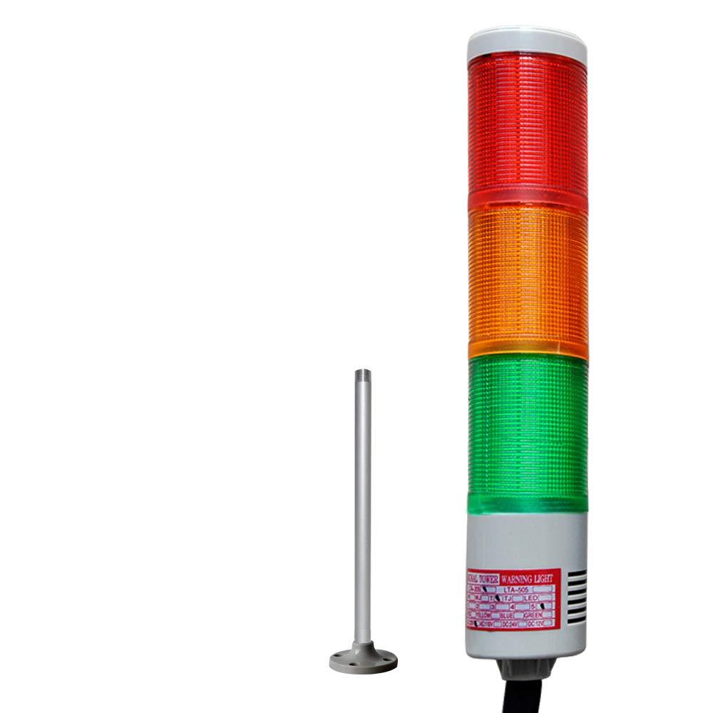 Amazon.com: lta-505 DC24 V 3 capas LED Torre con sonido de ...