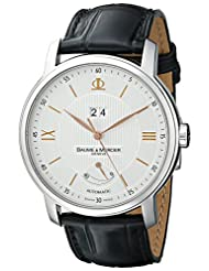 Baume Mercier Men's A10142 Classima Analog Display Swiss Automatic Black Watch