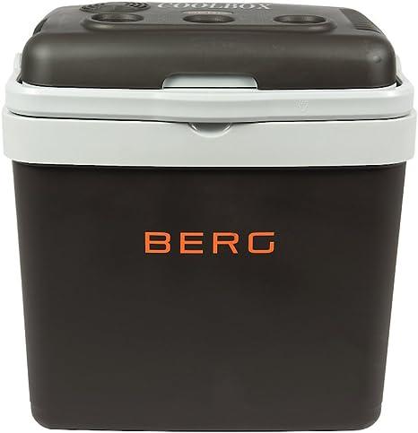 BERG - Nevera eléctrica grande de 33 litros para acampada, playa ...