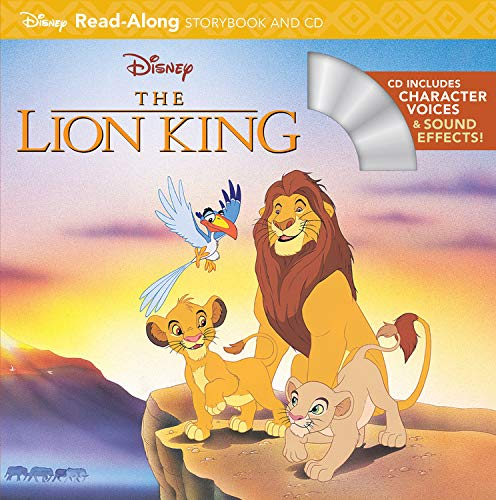 The Lion King Read-Along Storybook and -